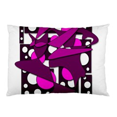 Something purple Pillow Case (Two Sides)