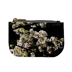 Blooming Japanese Cherry Flowers Mini Coin Purses by picsaspassion