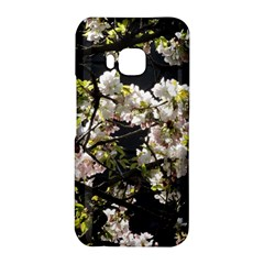 Blooming Japanese cherry flowers HTC One M9 Hardshell Case by picsaspassion