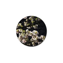 Japanese Cherry Flower Golf Ball Marker by picsaspassion