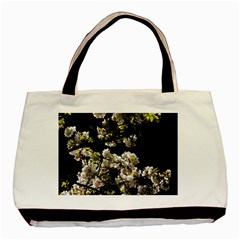 Japanese Cherry Flower Basic Tote Bag by picsaspassion