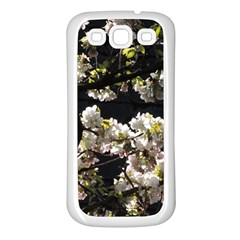 Japanese Cherry Flower Samsung Galaxy S3 Back Case (white) by picsaspassion