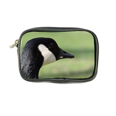 Goose, Black And White Coin Purse by picsaspassion