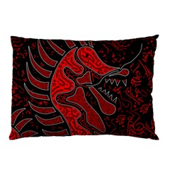 Red Dragon Pillow Case