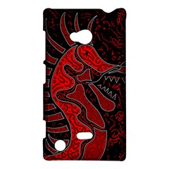Red Dragon Nokia Lumia 720 by Valentinaart