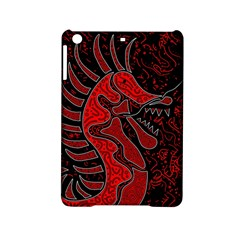 Red dragon iPad Mini 2 Hardshell Cases by Valentinaart