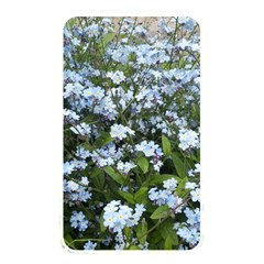 Blue Forget Me Not Flowers Memory Card Reader by picsaspassion