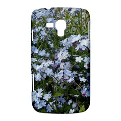 Little Blue Forget-me-not flowers Samsung Galaxy Duos I8262 Hardshell Case  by picsaspassion