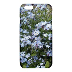 Little Blue Forget-me-not flowers iPhone 6/6S TPU Case by picsaspassion