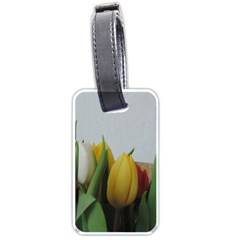 Colorful Bouquet Tulips Luggage Tags (two Sides) by picsaspassion