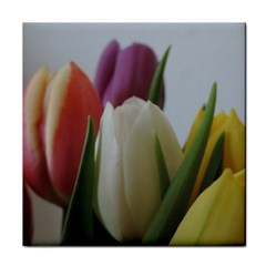 Colored By Tulips Tile Coasters by picsaspassion