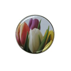 Colored By Tulips Hat Clip Ball Marker (10 Pack) by picsaspassion