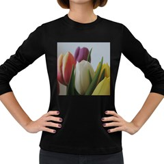Colored By Tulips Women s Long Sleeve Dark T Shirts by picsaspassion