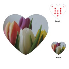 Colored By Tulips Playing Cards (heart)  by picsaspassion