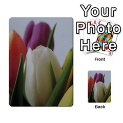 Colored By Tulips Multi Purpose Cards (rectangle)  by picsaspassion