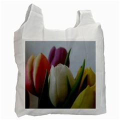 Colored By Tulips Recycle Bag (one Side) by picsaspassion