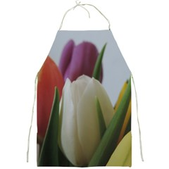 Colored By Tulips Full Print Aprons by picsaspassion