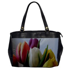 Colored By Tulips Office Handbags by picsaspassion