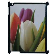Colored By Tulips Apple Ipad 2 Case (black) by picsaspassion