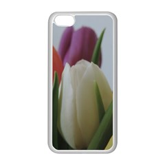 Colored By Tulips Apple Iphone 5c Seamless Case (white) by picsaspassion