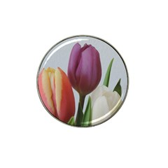 Tulip Spring Flowers Hat Clip Ball Marker by picsaspassion