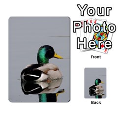 Swimming Duck Multi Purpose Cards (rectangle)
