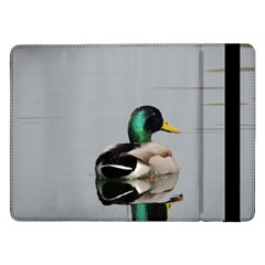 Swimming Duck Samsung Galaxy Tab Pro 12.2  Flip Case by picsaspassion