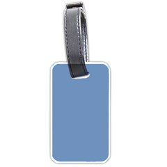 Blue Color Luggage Tags (one Side)  by picsaspassion