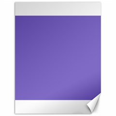 Lilac   Purple Color Design Canvas 12  X 16   by picsaspassion