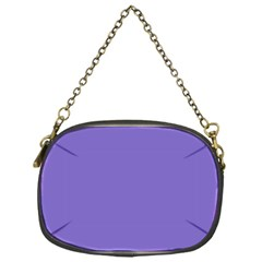 Lilac   Purple Color Design Chain Purses (one Side)  by picsaspassion