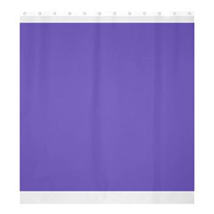 Lilac   Purple Color Design Shower Curtain 66  X 72  (large)  by picsaspassion