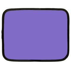 Lilac   Purple Color Design Netbook Case (xl)  by picsaspassion