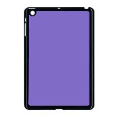 Lilac   Purple Color Design Apple Ipad Mini Case (black) by picsaspassion