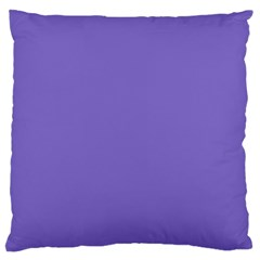 Lilac   Purple Color Design Large Flano Cushion Case (one Side) by picsaspassion