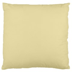 Gold Yellow Color Design Large Flano Cushion Case (two Sides) by picsaspassion