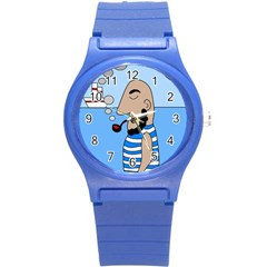 Sailor Round Plastic Sport Watch (s) by Valentinaart