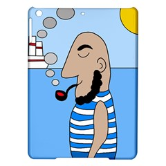 Sailor Ipad Air Hardshell Cases by Valentinaart