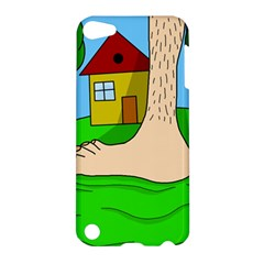Giant Foot Apple Ipod Touch 5 Hardshell Case by Valentinaart