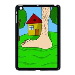 Giant Foot Apple Ipad Mini Case (black) by Valentinaart
