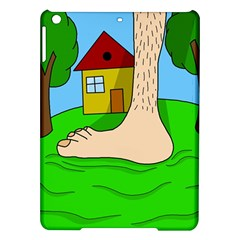 Giant Foot Ipad Air Hardshell Cases by Valentinaart