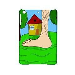 Giant Foot Ipad Mini 2 Hardshell Cases by Valentinaart