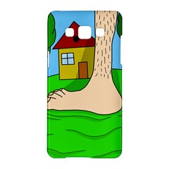Giant foot Samsung Galaxy A5 Hardshell Case  by Valentinaart