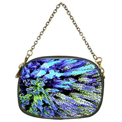 Colorful Floral Art Chain Purses (one Side)  by yoursparklingshop
