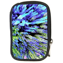 Colorful Floral Art Compact Camera Cases by yoursparklingshop