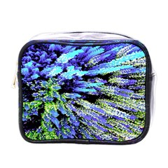 Colorful Floral Art Mini Toiletries Bags by yoursparklingshop