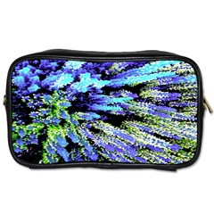 Colorful Floral Art Toiletries Bags 2 Side by yoursparklingshop