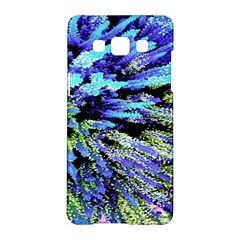 Colorful Floral Art Samsung Galaxy A5 Hardshell Case  by yoursparklingshop