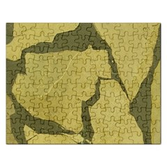Stylish Gold Stone Rectangular Jigsaw Puzzl by yoursparklingshop