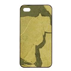 Stylish Gold Stone Apple Iphone 4/4s Seamless Case (black) by yoursparklingshop