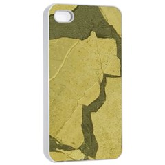 Stylish Gold Stone Apple Iphone 4/4s Seamless Case (white) by yoursparklingshop